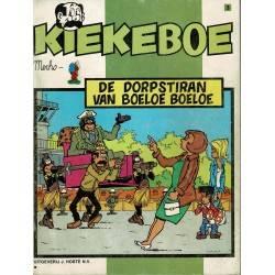 Kiekeboe - 003 De dorpstiran van Boeloe Boeloe - herdruk in zwart-wit
