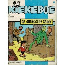 Kiekeboe - 004 De onthoofde sfinx - herdruk - Uitgeverij Hoste, ongekleurd