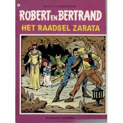 Robert en Bertrand - 036 Het raadsel van Zarata - eerste druk