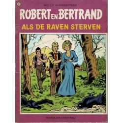 Robert en Bertrand - 048 Als de raven sterven - eerste druk