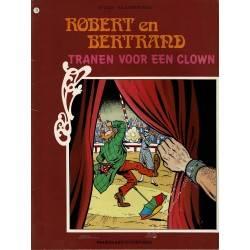 Robert en Bertrand - 077 Tranen voor een clown - eerste druk