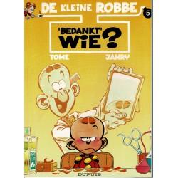 """De kleine Robbe - 05 """"Bedankt"""" wie? - herdruk"""
