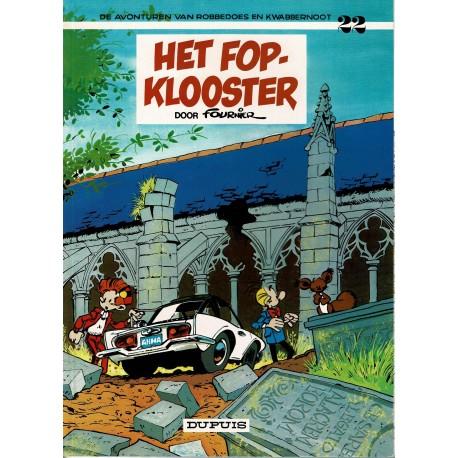 Robbedoes en Kwabbernoot - 22 Het fopklooster - herdruk