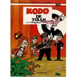 Robbedoes en Kwabbernoot - 28 Kodo, de tiran - herdruk