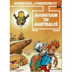 Robbedoes en Kwabbernoot - 34 Avontuur in Australië - herdruk