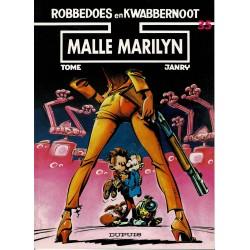 Robbedoes en Kwabbernoot - 35 Malle Marilyn - herdruk