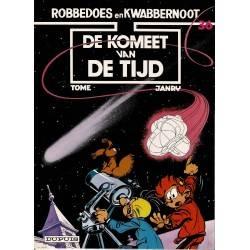 Robbedoes en Kwabbernoot - 36 De komeet van de tijd - herdruk