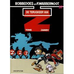 Robbedoes en Kwabbernoot - 37 De terugkeer van Z - herdruk