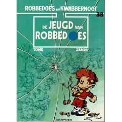 Robbedoes en Kwabbernoot - 38 De jeugd van Robbedoes - herdruk