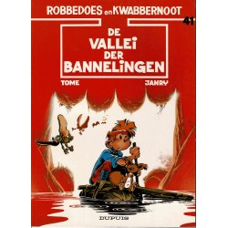 Robbedoes en Kwabbernoot - 41 De vallei der bannelingen - herdruk