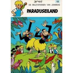 Jommeke - 012 Paradijseiland - herdruk