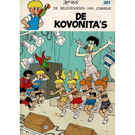 Jommeke - 201 De Kovonita's - eerste druk