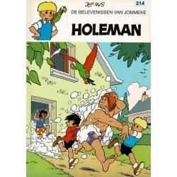 Jommeke - 214 Holeman - eerste druk