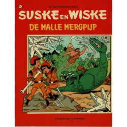 Suske en Wiske - 143 De malle mergpijp - eerste druk