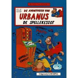 Urbanus - 026 De spellekeszot - eerste druk