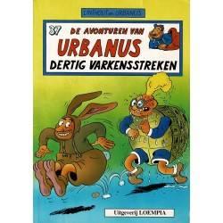 Urbanus - 037 Dertig varkensstreken - eerste druk