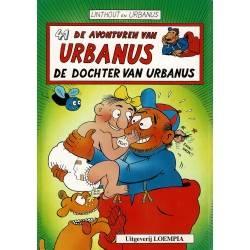 Urbanus - 041 De dochter van Urbanus - eerste druk