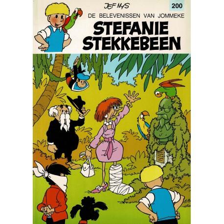 Jommeke - 200 Stefanie Stekkebeen - eerste druk
