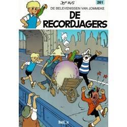 Jommeke - 261 De recordjagers - eerste druk