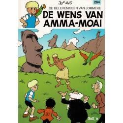 Jommeke - 264 De wens van Amma-moai - eerste druk