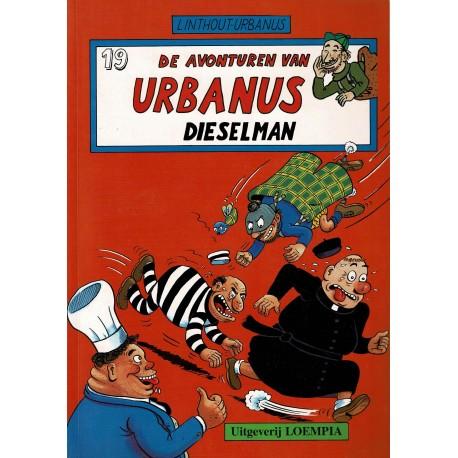 Urbanus - 019 Dieselman - eerste druk
