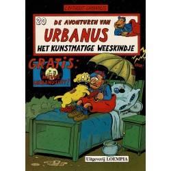 Urbanus - 020 Het kunstmatige weeskindje - eerste druk