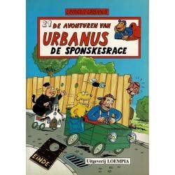 Urbanus - 021 De sponskesrace - eerste druk