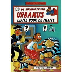 Urbanus - 039 Leute voor de meute - eerste druk
