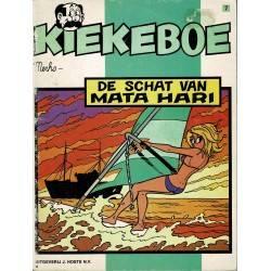 Kiekeboe - 007 De schat van Mata Hari - herdruk in zwart-wit