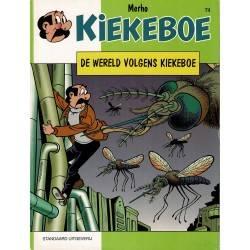 De Kiekeboes - 074 De wereld volgens Kiekeboe - herdruk 2001