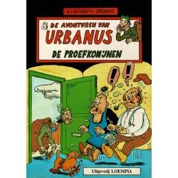 Urbanus - 008 De proefkonijnen - eerste druk 1985