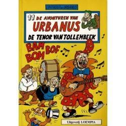 Urbanus - 011 De tenor van Tollembeek - herdruk 1992