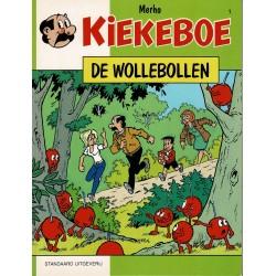 Kiekeboe - 001 De Wollebollen - herdruk 2000