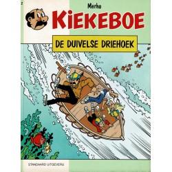 Kiekeboe - 002 De duivelse driehoek - herdruk 1990