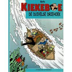 Kiekeboe - 002 De duivelse driehoek - herdruk 2002