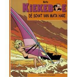 Kiekeboe - 007 De schat van Mata Hari - herdruk 2002