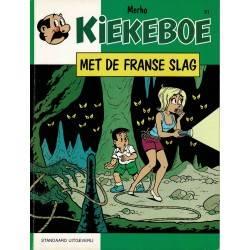 Kiekeboe - 051 Met de Franse slag - eerste druk 1991