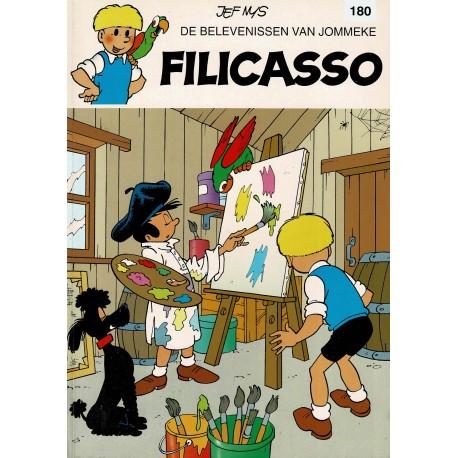 Jommeke - 180 Filicasso - herdruk 2001